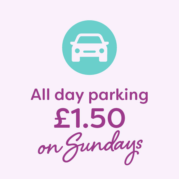 All day parking £1.50 on Sundays