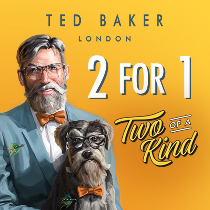 2 for 1 on Ted Baker
