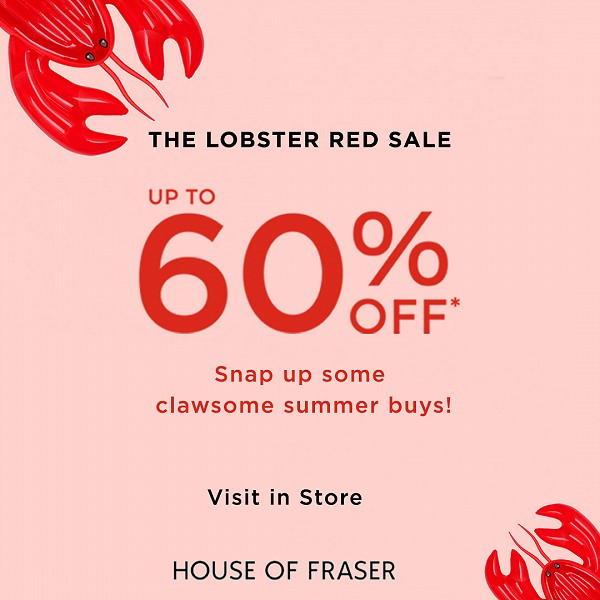 The Lobster Red Sale