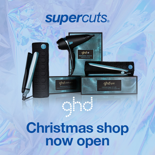 GHD Christmas Shop now open